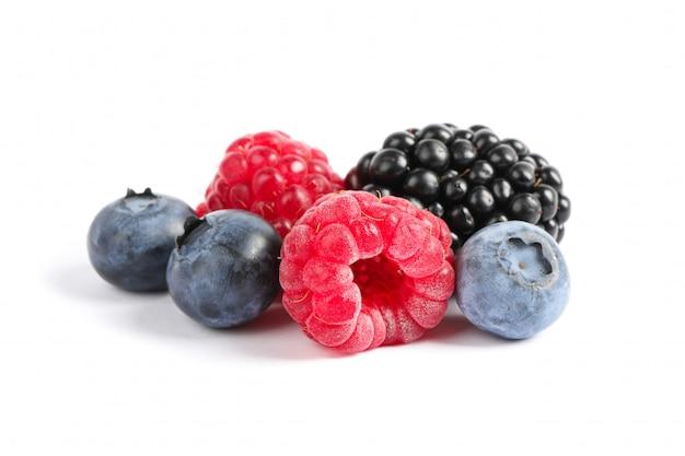 分離された甘い果実のグループ