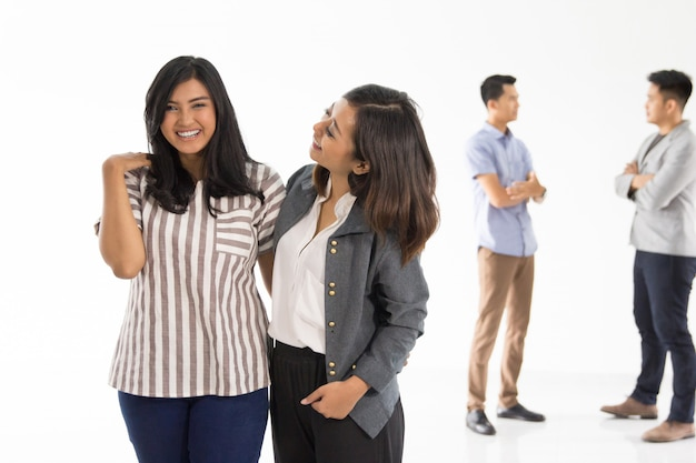 Группа молодых бизнес-концепции