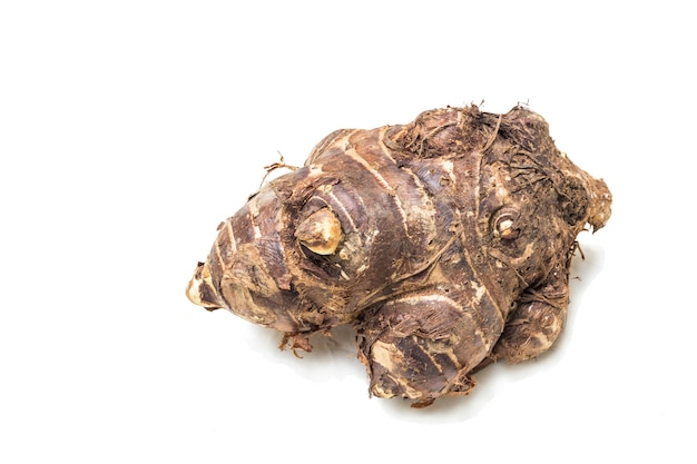 Group of taro roots