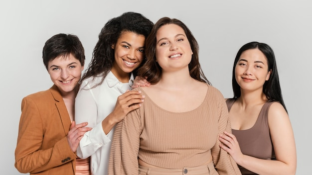 Group of women spending time together