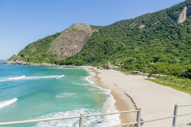 リオデジャネイロブラジルの西側にあるグルマリビーチ。