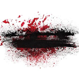 Grunge abstract background - raster illustration