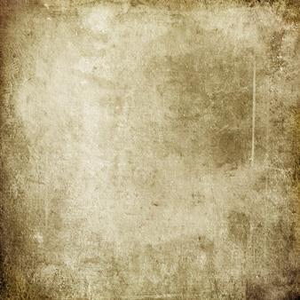 디자인 및 텍스트에 대한 반점 및 줄무늬가 있는 오래된 갈색 낡은 종이의 그루지 배경
