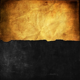 Grunge background with old paper on blackboard texture