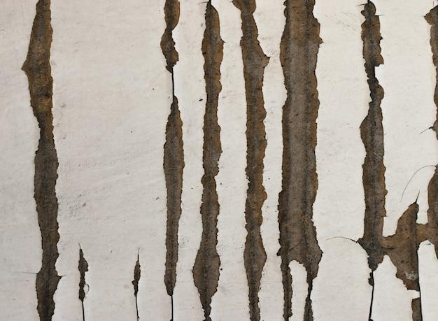 古い木製の塗られた壁とグランジの背景。
