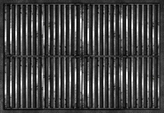 Grunge bars background