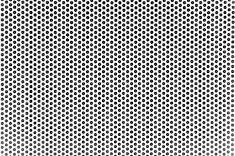 Grunge Black And White Distress Dot Texture Background Halftone Dotted