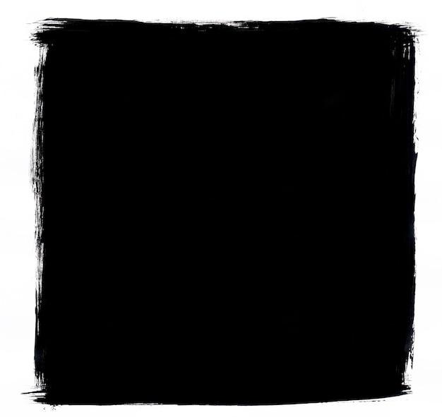 写真に最適なグランジ黒と白のフレーム