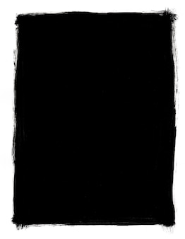Гранж черно-белая рамка изолированные