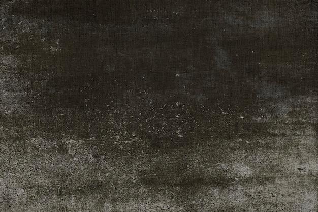 Grunge black concrete textured background