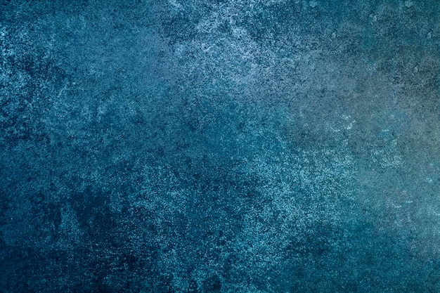Grunge blue color wall, abstract blue color paint. designed grunge on wall texture
