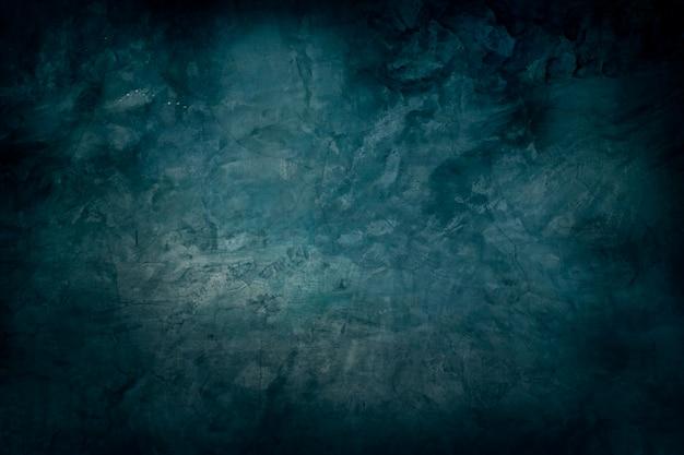Grunge blue texture. dark wall wall. blank for design.