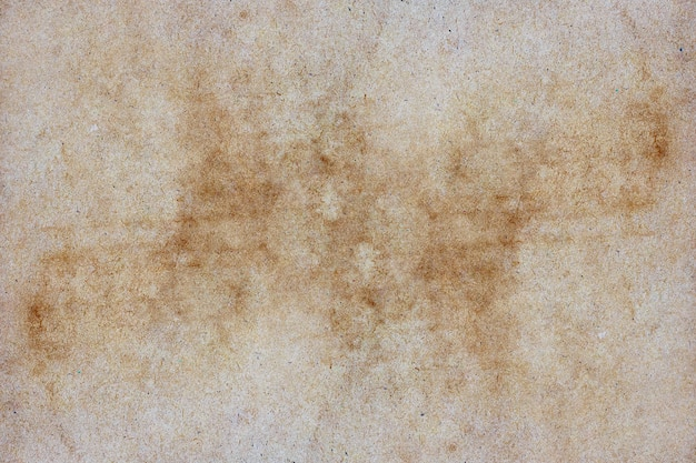 Текстура коричневой бумаги гранж для фона.