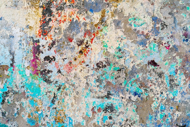 Grunge colored cement wall background