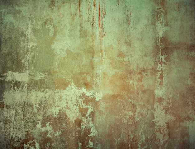 Grunge cracked old concrete wall texture and background.