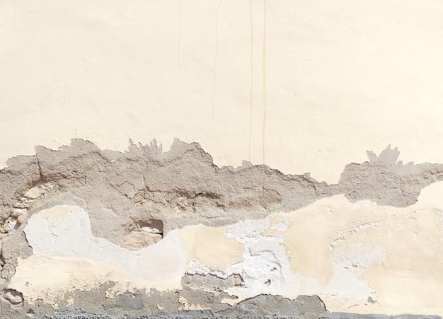 그런 지 금이 간된 벽