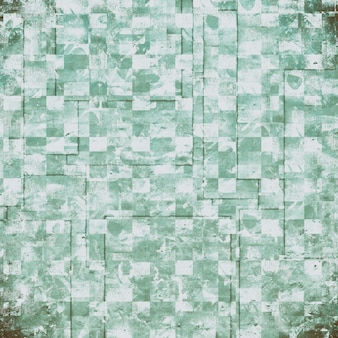 Grunge green and white background