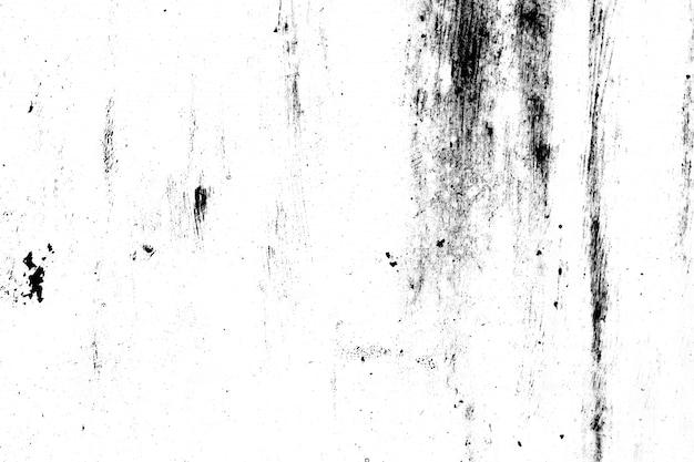 Гранжевый металл и пыль царапают черно-белую текстуру фона