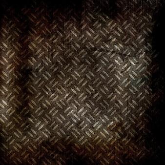 Металлический гранж-фон с пятнами и царапинами