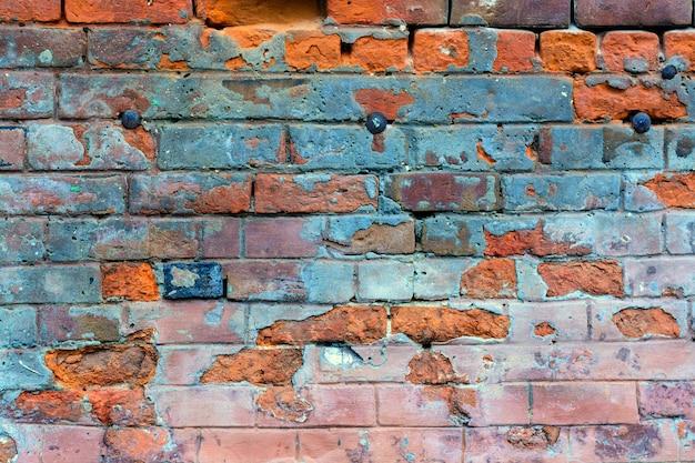 Grunge old brick background.