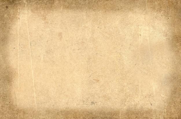 グランジ古い汚れたベージュの紙