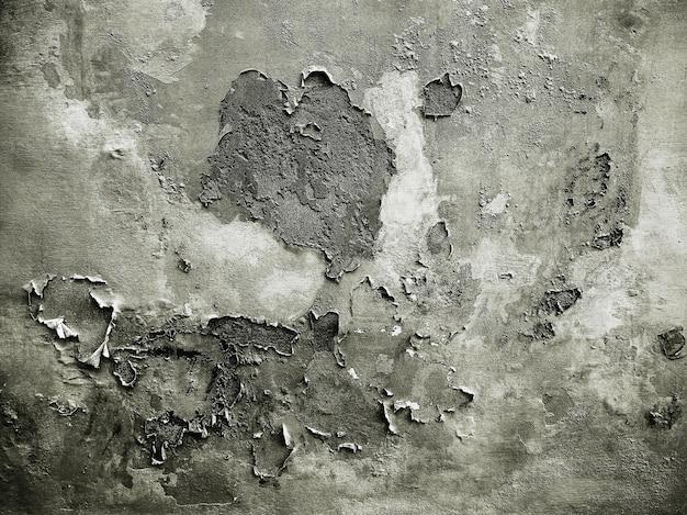 湿気のあるグランジ古い壁