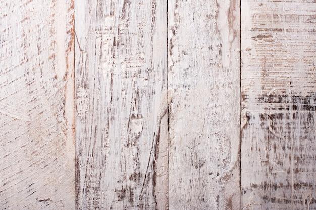 Grunge old white wooden background