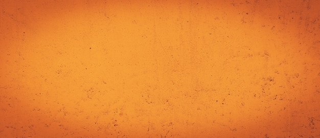 Grunge orange concreted wall  texture