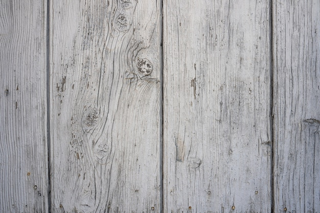 垂直の部分で作られたグランジの痛みを伴う摩耗した木の質感