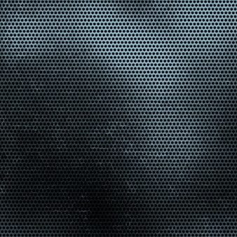Grunge perforated metal texture