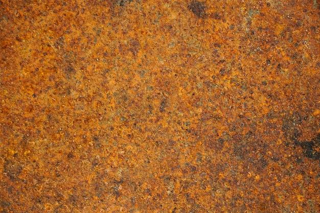 グランジ錆びた金属の質感錆と酸化金属の背景古い金属鉄パネル