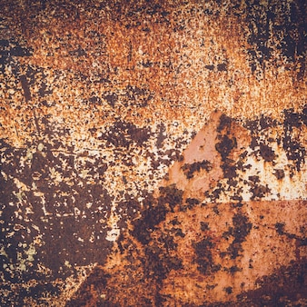 Grunge rusty iron texture and background