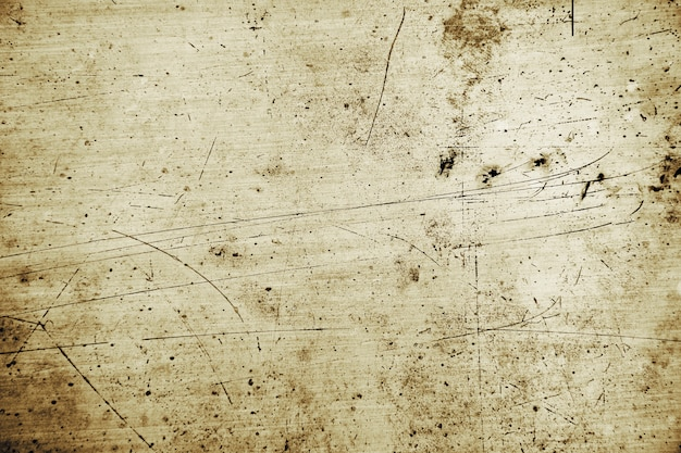 Grunge and scratch metal plate background