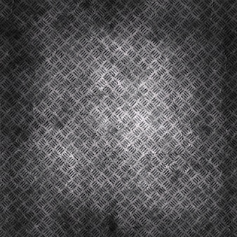 Grunge scratched metal plate texture background