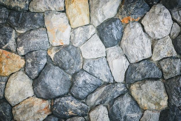 Grunge stone wall background texture vintage tone