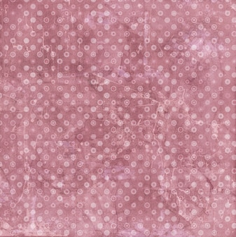 Grunge style background with a polka dots pattern