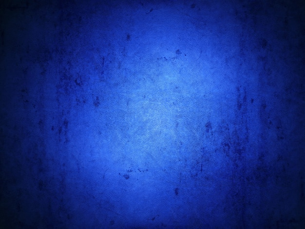 Grunge style blue background with a leather texture