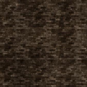 グランジスタイルのレンガの壁のテクスチャの背景
