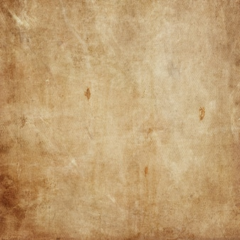 Grunge style canvas texture background with splats and stains