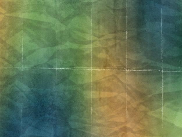 グランジスタイルのカラフルな紙の質感