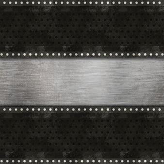 グランジスタイルのメタリックテクスチャ背景