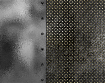 Grunge style metallic texture background