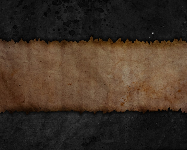 Grunge style paper texture background with stains and creases