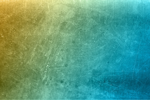 Grunge style scratched metal background in pastel colours