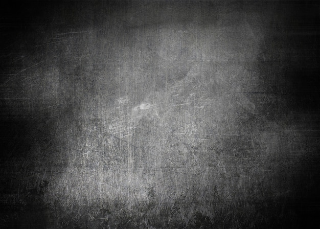 Grunge style scratched metal texture background