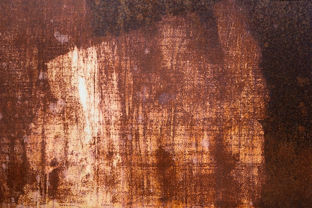 Grunge texture of rusty metal surface