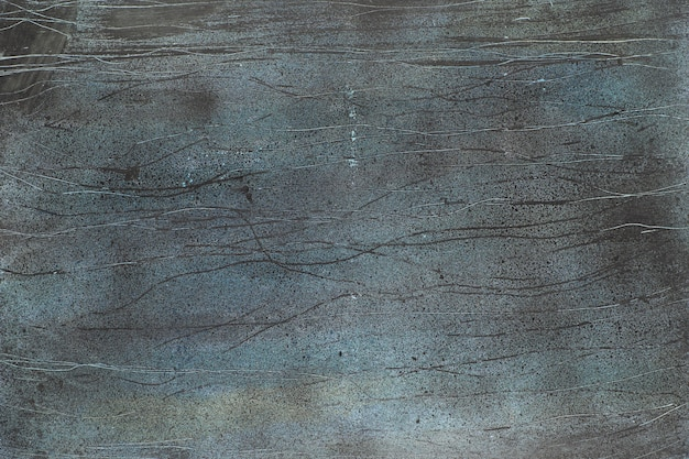 Grunge texture with crackled grey, green and white paint