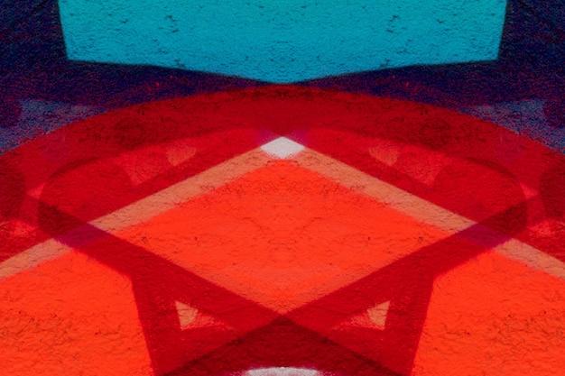 グランジの壁またはテクスチャと空の背景