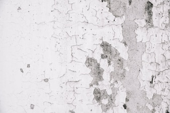 Grunge wall with peeled paint