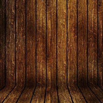 Grunge stile di fondo in legno con graffi e macchie